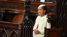 Oh Doria: why was the mother-of-the-bride left looking lonely?