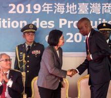 Taiwanese president courts ally Haiti during Caribbean tour