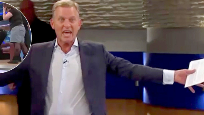 Jeremy Kyle gets floored by guest
