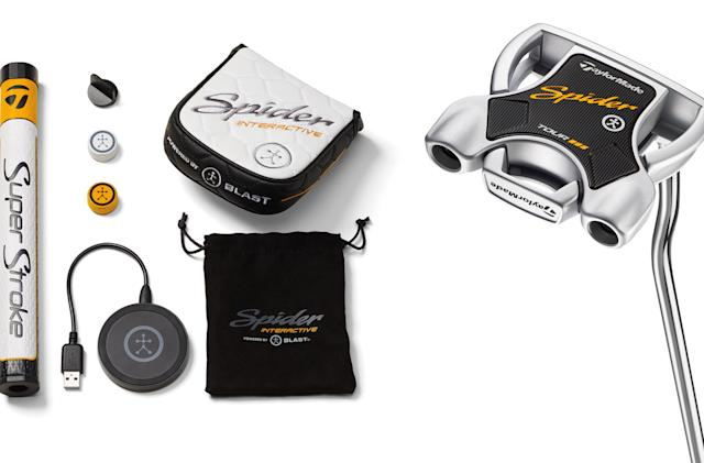 TaylorMade's new putter can analyze your golf stroke