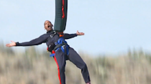 Will Smith bungee jumped out of a helicopter and inspired everyone watching