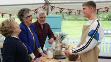 Bake Off week 2: Jamie crumbles under the pressure of biscuit week and viewers are devastated