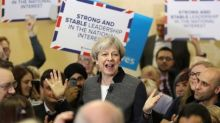 May's Conservatives at 50 percent in poll, highest since 1991