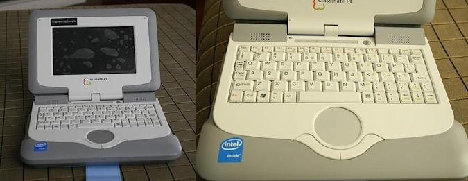 Classmate PC live and in the flesh