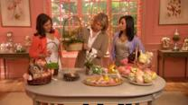 How to Make Easter Basket Flower Arrangements