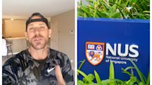 Adult film star Johnny Sins sends video shoutout to graduates of 2020 NUS class