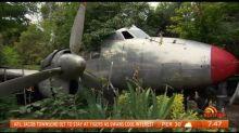 Retiree has 12-seater plane in his backyard