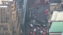 New York explosion: Suicide bomber in custody after 'attempted terrorist attack'