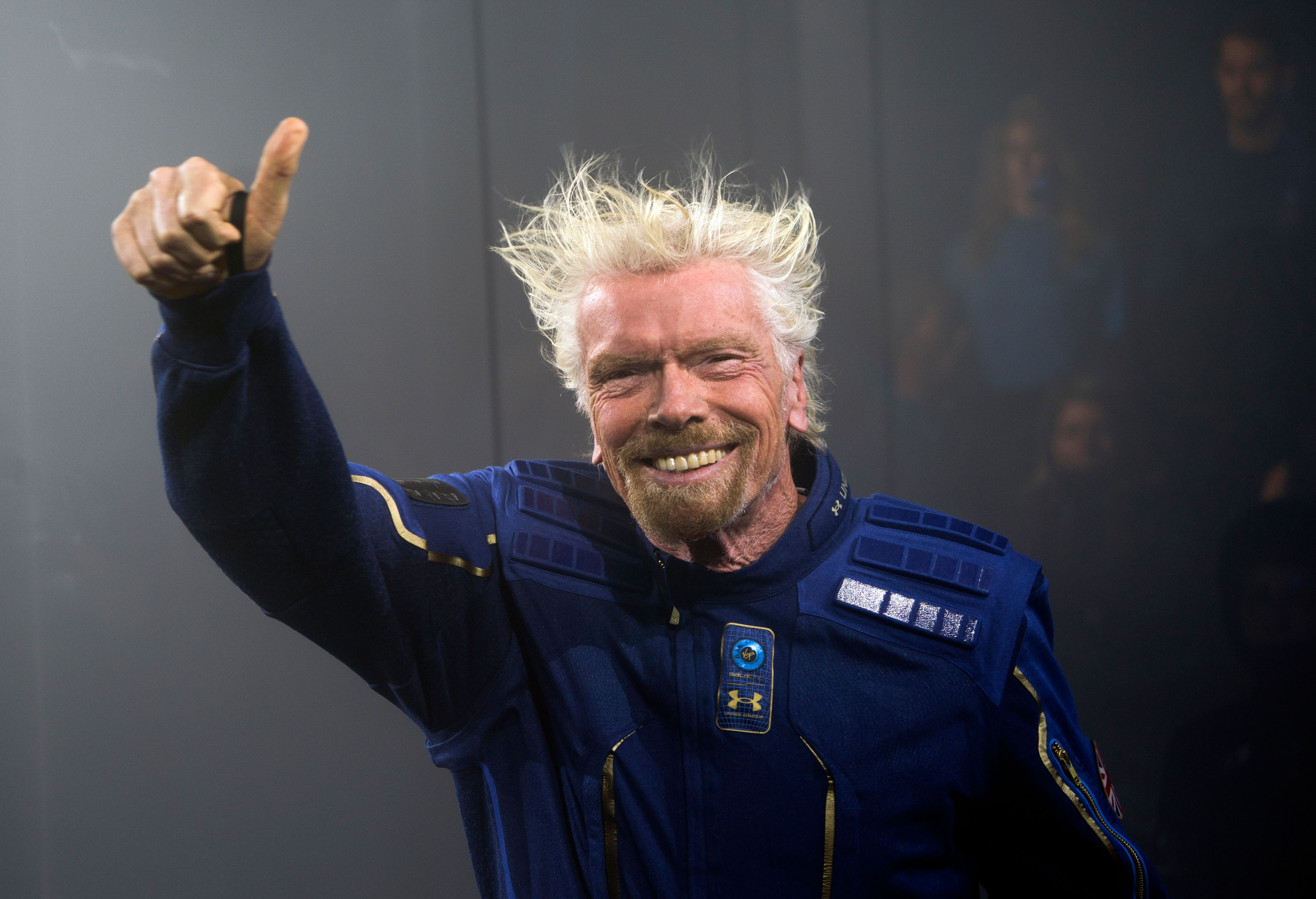The Bezos, Musk and Branson billionaire space race is happening right now