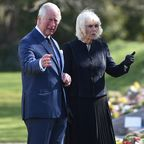 Prince Charles and Camilla Fight Back Tears While Visiting Prince Philip Tributes