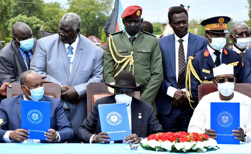 Sudan and major rebel groups sign peace agreement in Juba