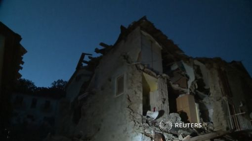 """Voices under the rubble"" after quake hits Italy; at least 38 dead"