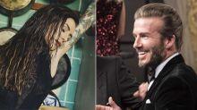 La foto hot de Cande Tinelli que 'enloqueció' a David Beckham