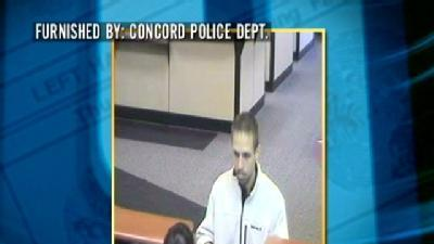 Police Search For Concord Bank Robber