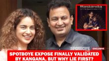 Distressing: Kangana Ranaut Needed A SpotboyE Expose To Confirm Manikarnika Producer Kamal Jain's Delicate Health