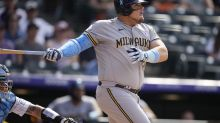 Vogelbach single lifts Brewers over homer-happy Rockies 7-6