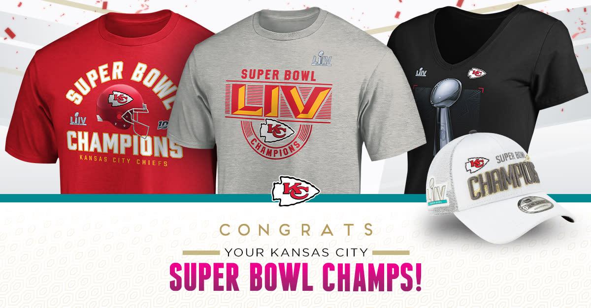 Kansas City Chiefs Win Super Bowl Shop Shirts Hats More