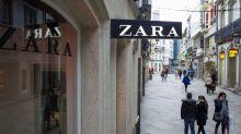 Zara Owner's Online Sales Surge Helps Plug Gap as Stores Slow