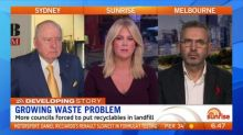 Growing waste problem