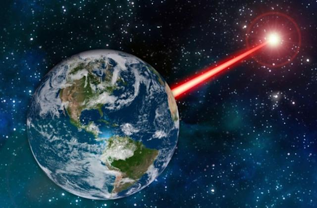 A powerful laser 'porch light' could let aliens know where we are