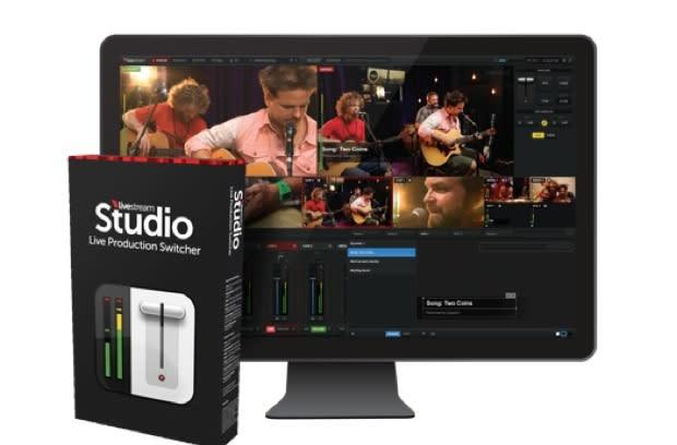 Livestream releases software version of Studio video switcher, gives producers an even more portable option