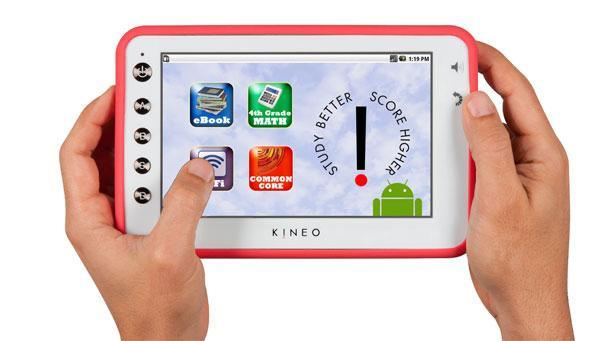 Brainchild Kineo joins Kindle, iPad in digital reformation; ships to schools in ten states
