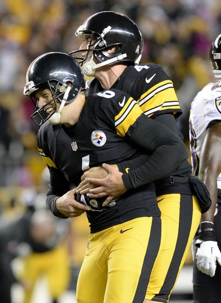 Suisham's hot streak carrying Steelers
