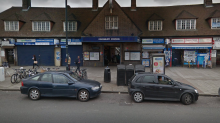 Three people injured after shooting outside north-west London Tube station