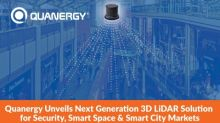 Quanergy Unveils Next Generation 3D LiDAR Solution for Security, Smart Space and Smart City Markets