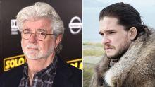 George Lucas secretly visited the  'Game of Thrones' Season 8 set