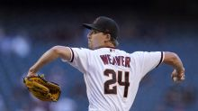 Weaver has best start in month, D-backs beat Marlins 5-2
