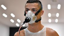 Wired-up Cristiano Ronaldo put through his paces with Higuain, Dybala and Cuadrado