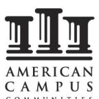 American Campus Communities Announces Third Quarter Earnings Release and Conference Call
