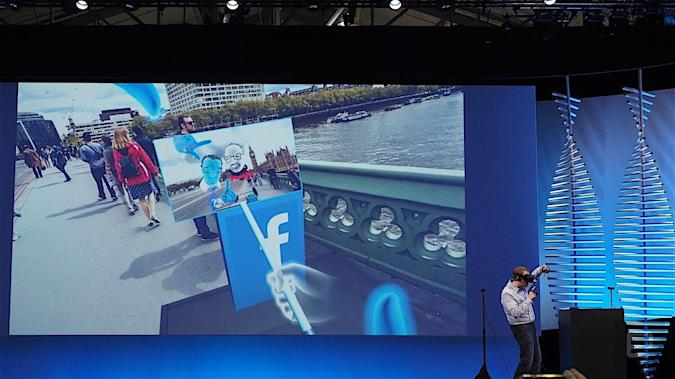Facebook wants us to take VR selfies with virtual selfie sticks