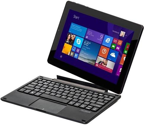 eFun's hybrid tablets offer a choice: Windows 8.1 or Android?