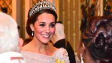 Kate Middleton Wore a Modern-Day Cinderella Dress to the Queen's Diplomatic Reception
