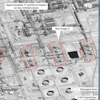 Satellite photos show the scale of destruction at Saudi oil facilities hit by attacks that put global markets in chaos