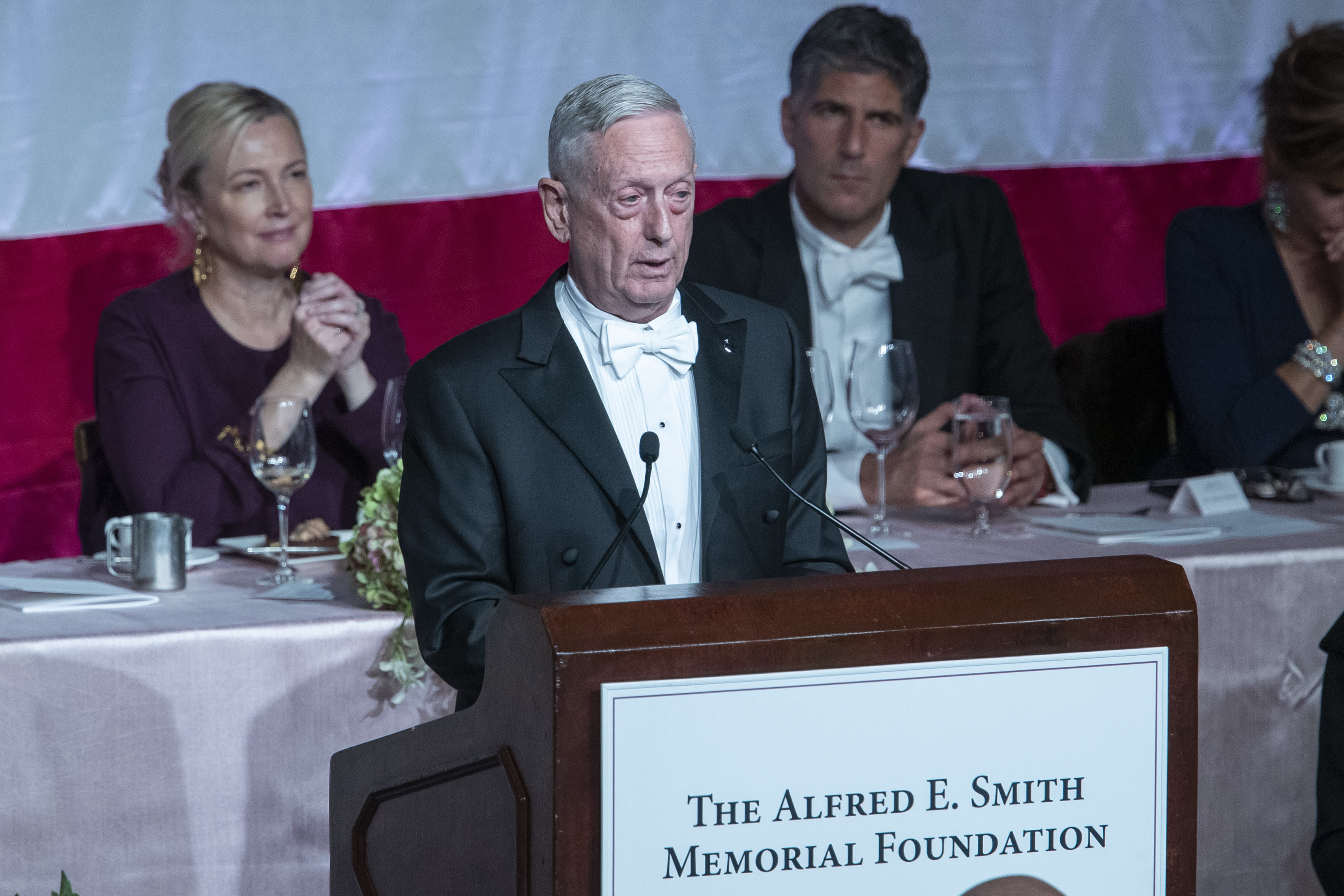 'Overrated general' Mattis zings Trump at NY charity gala
