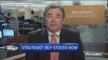 A top strategist says take advantage of any volatility and buy now