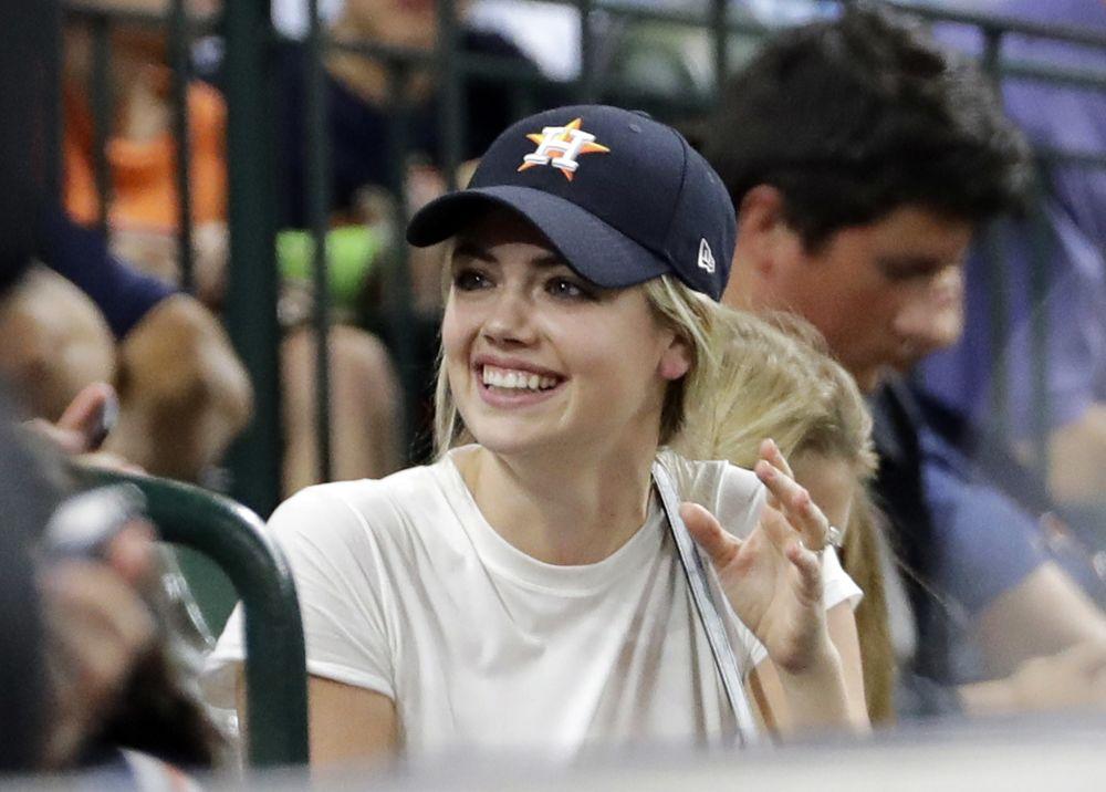 Supermodel Kate Upton is engaged to Astros pitcher Justin Verlander. (AP)