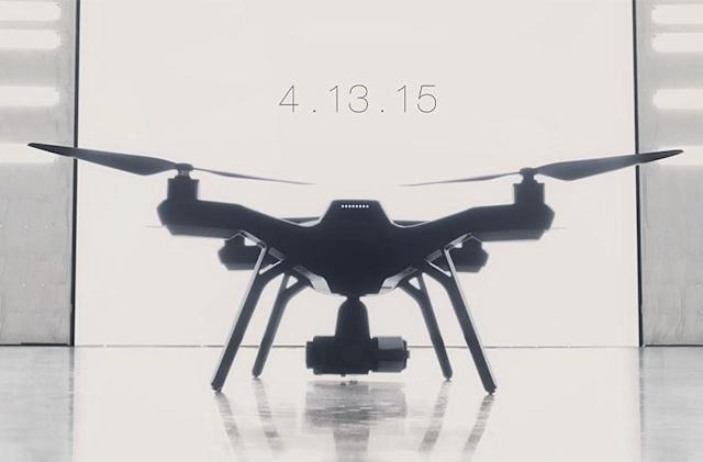 3D Robotics teases stylish drone with pro features