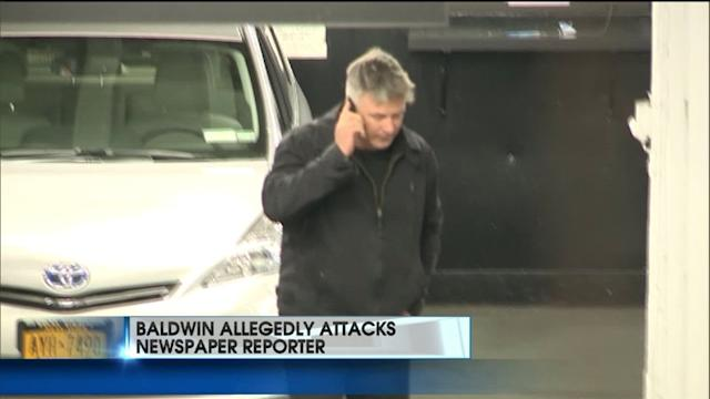 Alec Baldwin Accused of Attacking Reporter