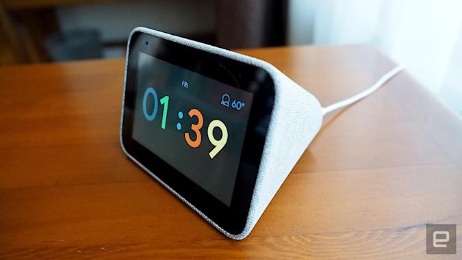 Lenovo Smart Clock with Google Assistant