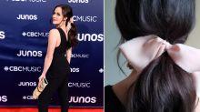 Tessa Virtue's gorgeous feminine hair accessory is only $22