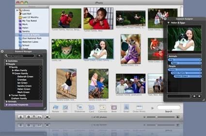 Keyword Manager for iPhoto
