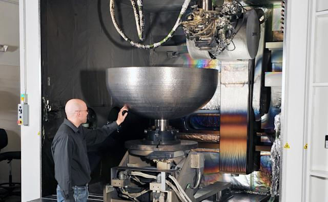 Lockheed Martin creates its largest 3D-printed space part to date