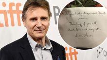Liam Neeson's stunning gesture for Melbourne COVID nurses