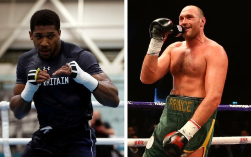 "Joshua says Fury is ""the biggest fight out there"""