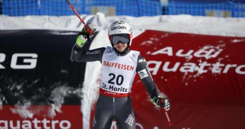 Ski alpin - ChF (F) - Adeline Baud-Mugnier en or au combiné des Championnats de France