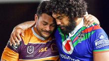 'Never seen this': NRL stars burst into tears on field